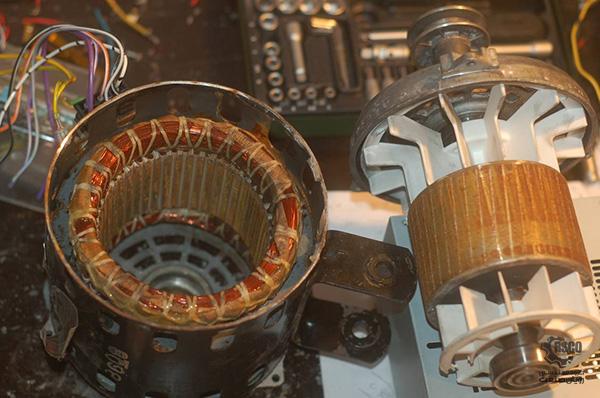 آشنایی بیشتر با موتور جریان متناوب